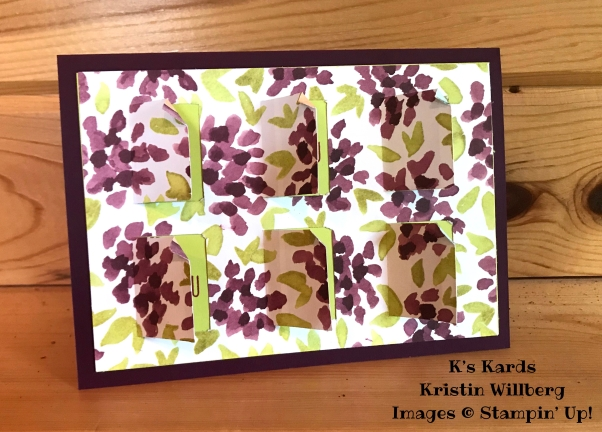 Blackberry Bliss - Happy Birthday - K's Kards - Kristin Willberg - Stampin' Up