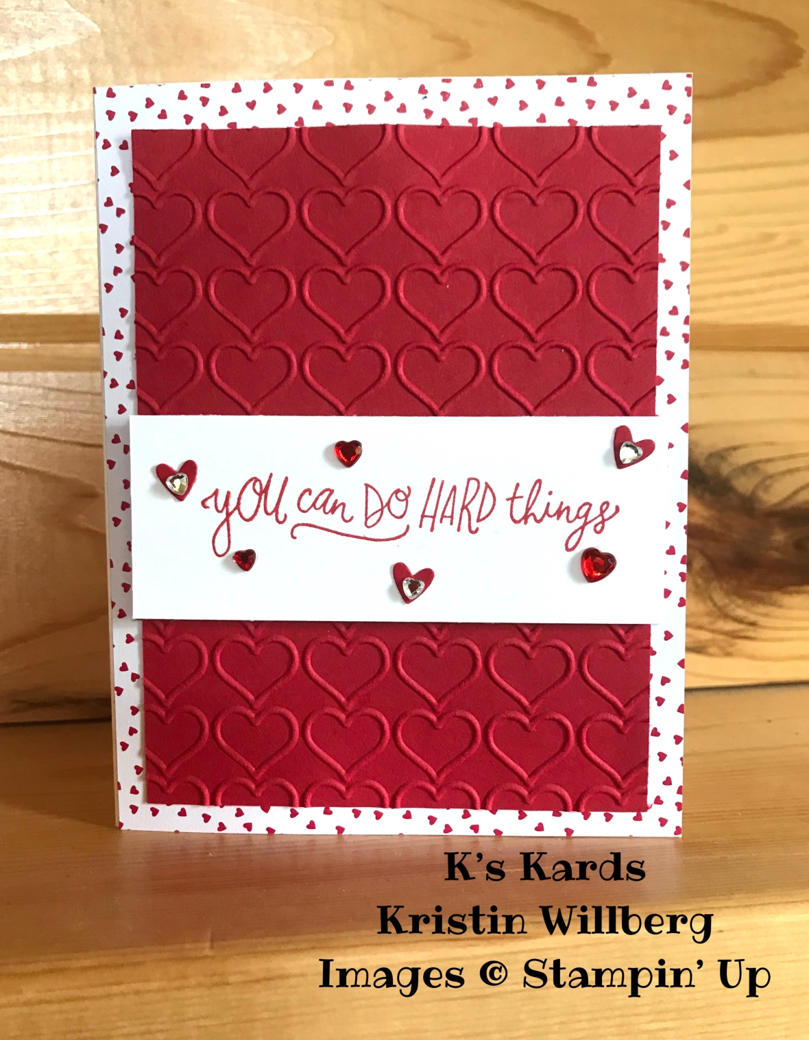 Sunny Days - Happy Heart - Owl Punch - K's Kards - Kristin Willberg - Stampin' Up